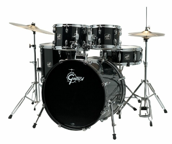 Gretsch Renegade RG-E625-BLK Black Drum Set