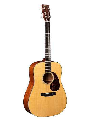 Martin D-18 Acoustic Guitar With Gold Plus Thinline Pickup Installed