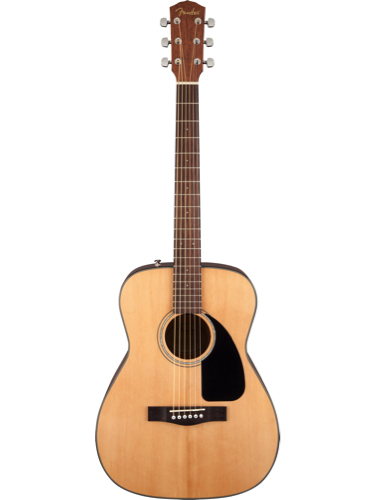 Fender CF60 Natural Acoustic Guitar With Hardshell Case