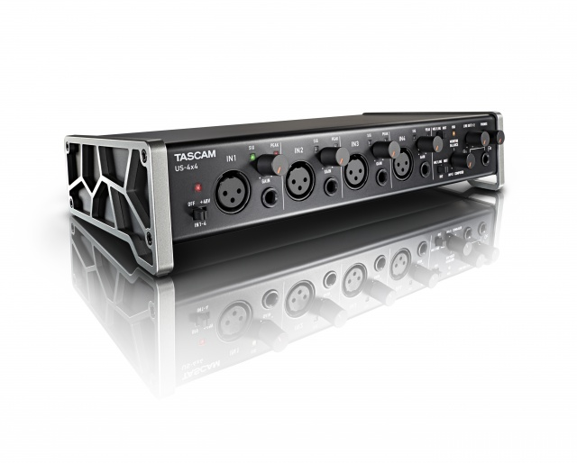 TASCAM US-4X4 Computer-Tablet Audio Interface