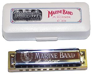 Hohner 1896 Marine Band Harmonica Key of C